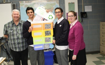 Working toward a cleaner, more welcoming school